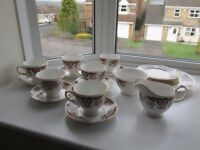 Vintage Colclough Tea set and accessories