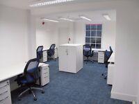 8 desks available now for £320.00 per desk per month