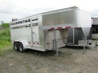 2015 Eby 16ft Stock Trailer Maverick