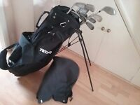 Texan Classic, stand carry bag, with clubs