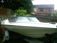BROOM AQUARIOUS 17FT YAMAHA 75 HP GOOD TRAILER