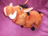 burping soft toy pumba from the lion king