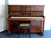 PIANO free to good home, reasonable condition, but would need a tune up. with stool.