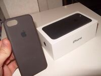 Iphone 7 box and case - New
