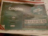 Birmingham mail win a wedding tokens!
