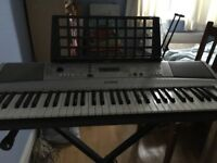 Great Electronic Keyboard - Yamaha PSR-E313 Keyboard WITH collapsible STAND and music rest
