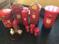 Various post boxes