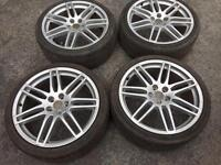 "Audi 19"" alloy wheels"
