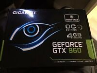 Gigabyte Windforce OC'd edition GTX 960 4GB