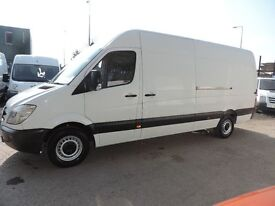 MERCEDES SPRINTER ON 61 PLATE 313CDI LWB EXCELLENT CONDITION , PART SERVICE HISTORY, 1 PREV. OWNER