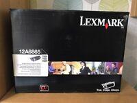 2x Genuine Lexmark Black Print Cartridges. For T620, T622 Or X620.