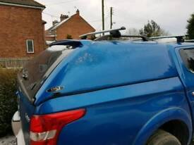 LUPO S1 COMMERCIAL HARD TOP CANOPY – (Mitsubishi L200 MK7 Series 5 2015-On Double Cab)