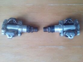 Shimano Pedals PD-M520 (Clipless)