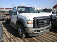 2008 Ford F-550 Regular Cab and Chassis 6.4L Dually Diesel
