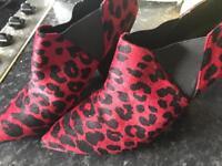 Ladies size 7 ASOS boots