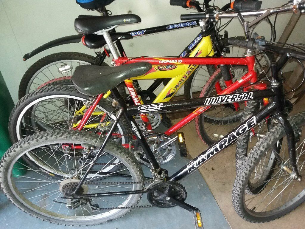 all these bikes 26 inch wheel only65 eachfully roadworthyin Old Trafford, ManchesterGumtree - just text 07934487357. dont miss out. free trail. cheap bargains. test drive . hurry before they dissapear