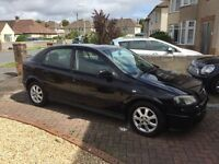 05 Vauxhall Astra 1.4 Club, Low miles, nice spec, mot'd with FSH. V clean, cheap to run/tax insure