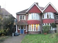 SUPER BRIGHT SPACIOUS 4 BEDROOM HOUSE WITH GARDEN NEAR TRAIN, TUBE & MIDDLESEX UNIVERSITY