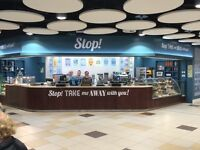 Assistant manager for City Centre Coffee Shop Immediate start available