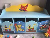 Nearly new children's storage unit
