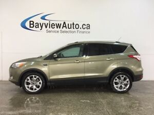 2014 Ford ESCAPE TITANIUM- ECOBOOST|PANOROOF|HTD LTHR|SONY|BLIS!