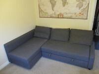 3 SEATER CORNER SOFA BED - FRIHETEN IKEA