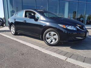 2015 Honda Civic LX - BLUETOOTH, SUNROOF, BACKUP CAM, HEATED SEA