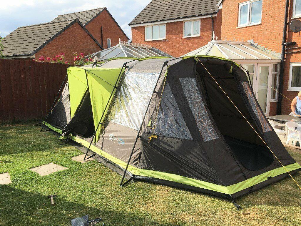 SKANDIKA NORDLAND 4 PersonMan Family Tent with Sewn in Groundsheet | in Carlisle, Cumbria | Gumtree