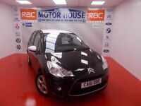 Citroen C3 BLACK (LIMITED EDITION) FREE MOT'S AS LONG AS YOU OWN THE CAR!!! (black) 2012
