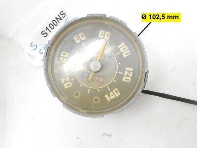 Cuentakilómetros Veglia Borletti para Fiat 1100 Coches de Época Años 1960-1965