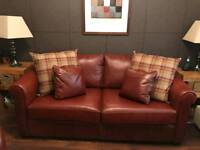 Two seater couch and chair