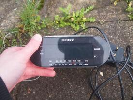 Sony Digital Clock Radio.