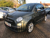 """Fiat 500 1.4 Petrol """"Only The Brave Diesel Brand"""""""