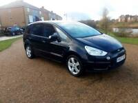 2007 Ford S-Max TITANIUM 2.0 146 bhp Petrol 7 Seater , 5 speed manual ,