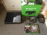 Xbox one and 2 games