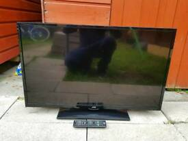 "JVC 32"" LED TV BUILT-IN DVD PLAYER WITH REMOTE CONTROL"