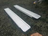 Brand new genuine ifor williams 8ft aluminium trailer loading ramps