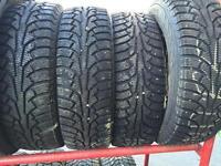 """4 pneus hiver 14"""""""