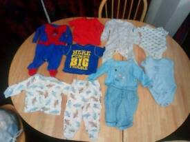 Baby clothes 3 to 6 month various