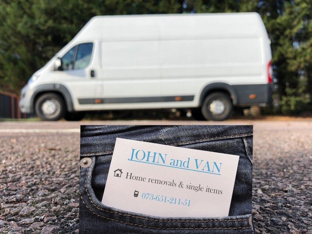 4156cfc90898 JOHN and VAN – Home removals   single items   man   van services   cheap  quotes Luton