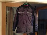 Motorbike Jacket, 44 in, and Trousers 36/31 in