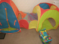 3 in 1 Kids Pop Up Tent and Balls