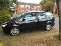 FORD C-MAX TITANIUM 1.8 TDCI 115 ESTATE 5DR MPV 2008 MODEL,SERVICE HISTORY,MOT JUNE 2019, 2 KEYS