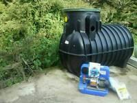 Rain water harvesting kit and pump
