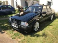 Ford Orion mk1 not rs turbo or escort swap mk7 fiesta