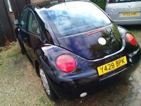 Beetle 2001 nice car everything work 100%