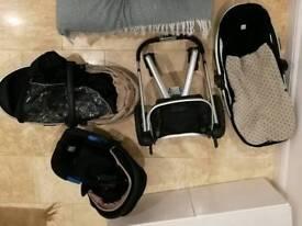 Silver cross Surf 2 Pram/pushchair/Carrycot