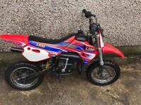 LEM LX1 50CC 2 Stroke Children's Motorbike Similar to PW50 KTM50 Malaguti Husky