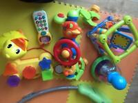 Baby 6 Toy bundle