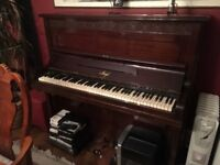 Upright Amyl piano. Free to collector